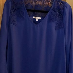 Skies are Blue Bell Sleeve Women's Blouse